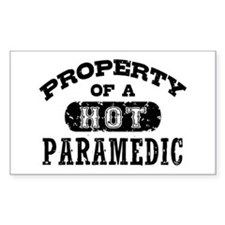 Property of a Hot Paramedic Decal