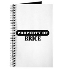 Property of Brice Journal