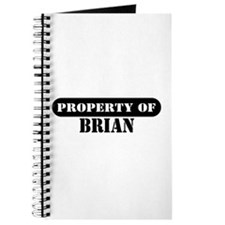 Property of Brian Journal