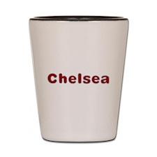 Chelsea Santa Fur Shot Glass