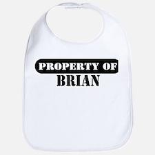 Property of Brian Bib