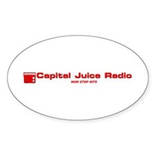 Capital Juice Products Decal