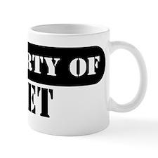 Property of Bret Small Mug