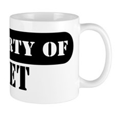 Property of Bret Small Mug