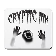 Cryptic Ink Ghost Mousepad