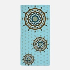 Mehndi Fantasy Copper Beach Towel