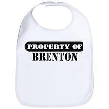 Property of Brenton Bib