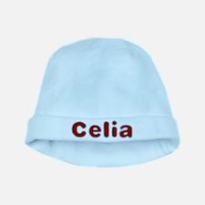 Celia Santa Fur baby hat