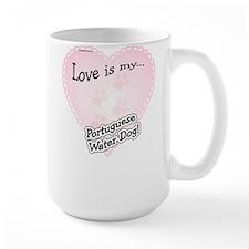 Love is my Portugese Water Dog Mug