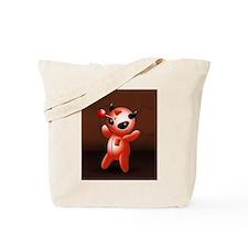 Voodoo Doll Evil Devil Cartoon Tote Bag