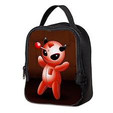 Voodoo Doll Evil Devil Cartoon Neoprene Lunch Bag