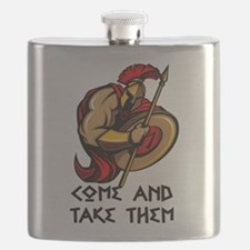 Come and Take them Flask
