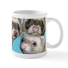 Fab five ferret mug