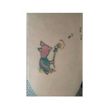 piglet Rectangle Magnet