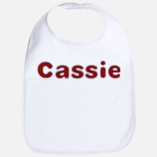 Cassie Santa Fur Bib
