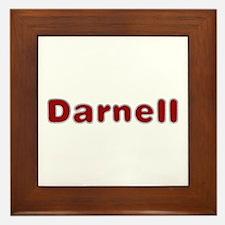 Darnell Santa Fur Framed Tile