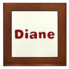 Diane Santa Fur Framed Tile