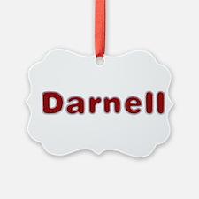 Darnell Santa Fur Ornament