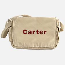 Carter Santa Fur Messenger Bag
