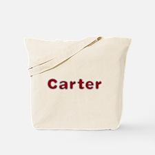 Carter Santa Fur Tote Bag