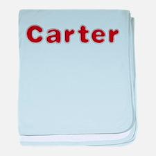 Carter Santa Fur baby blanket