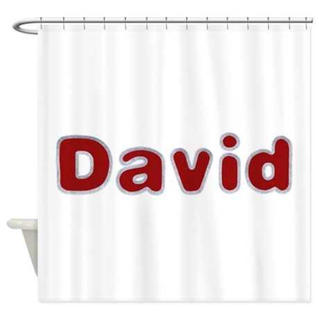 David Santa Fur Shower Curtain