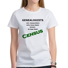 Genealogy Losing Census (Green) Tee