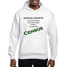 Genealogy Losing Census (Green) Hoodie