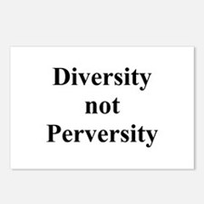 Diversity not Perversity Postcards (Package of 8)