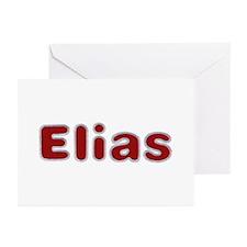 Elias Santa Fur Greeting Card 10 Pack
