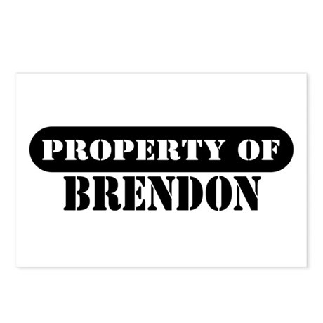 Property of Brendon Postcards (Package of 8)