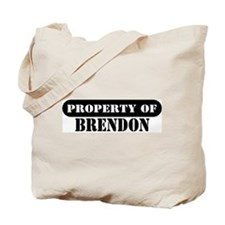 Property of Brendon Tote Bag