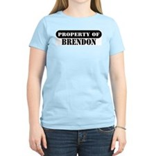 Property of Brendon Women's Pink T-Shirt