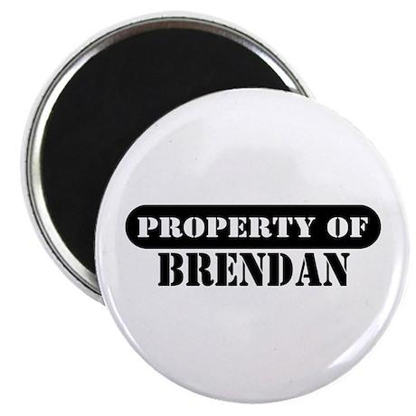Property of Brendan Magnet