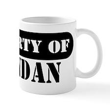 Property of Brendan Mug
