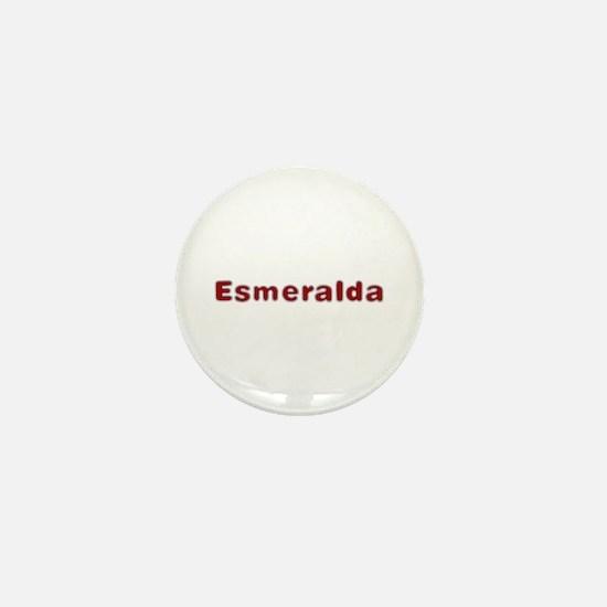 Esmeralda Santa Fur Mini Button