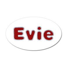 Evie Santa Fur Wall Decal