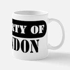 Property of Brandon Small Small Mug