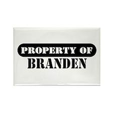 Property of Branden Rectangle Magnet