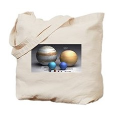 Solar System Planets Tote Bag