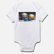 Solar System Planets Infant Bodysuit