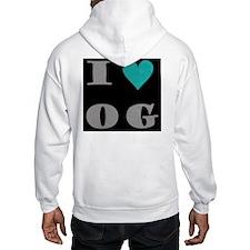 I Love O G Hoodie