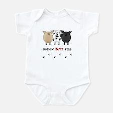 Nothin' Butt Pigs Infant Bodysuit