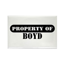 Property of Boyd Rectangle Magnet (100 pack)