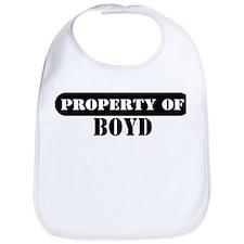 Property of Boyd Bib