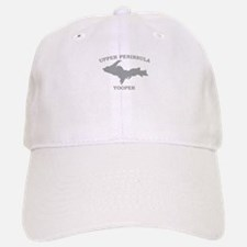 Upper Peninsula Yooper - Silv Baseball Baseball Cap