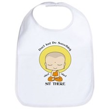 Meditation Yoga Buddhist Monk Bib