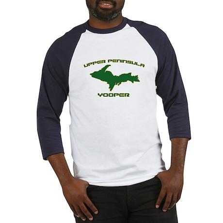 Upper Peninsula Yooper - Gree Baseball Jersey