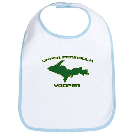 Upper Peninsula Yooper - Gree Bib