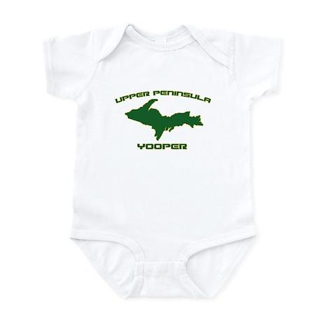 Upper Peninsula Yooper - Gree Infant Bodysuit